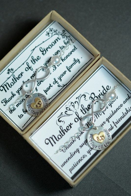 SET OF 2 BRACELETS Mother of the by thefabjewelrywedding on Etsy, $119.98