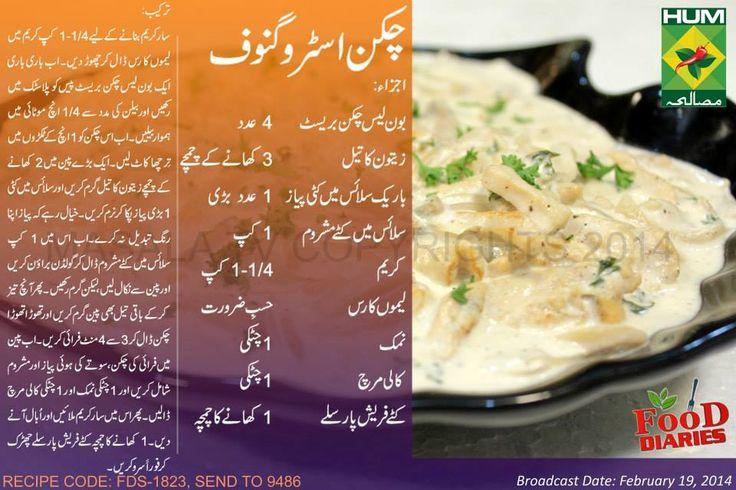 Chicken Stroganoff Recipe by chef Zarnak Sidhwa #MasalaTV