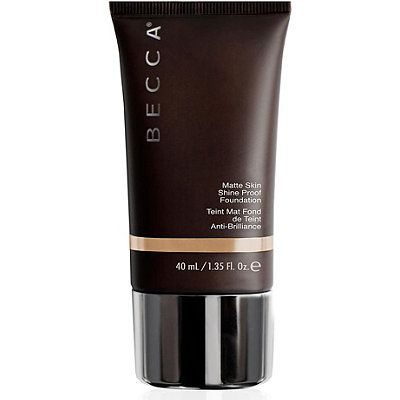 BECCA Ever-Matte Shine Proof Foundation Bamboo (tan beige, yellow/golden)