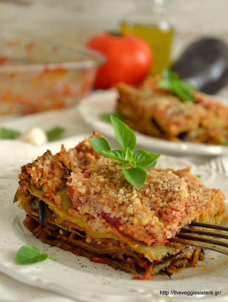 Vegan eggplant lasagna: a delicious summer dish!