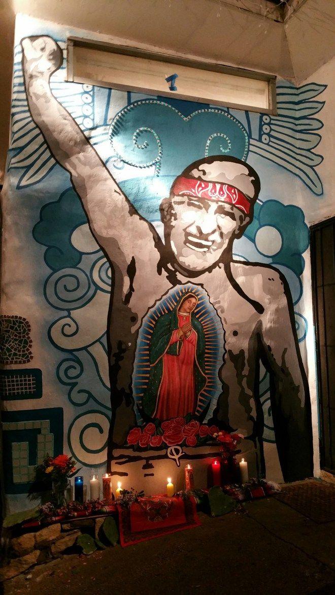 Raul Salinas Mural