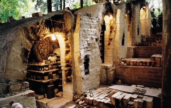 Dona Dita Olímpia's kilns