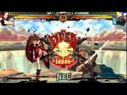 NEC 17 Guilty Gear Xrd Revelator Pool Matches Part 3