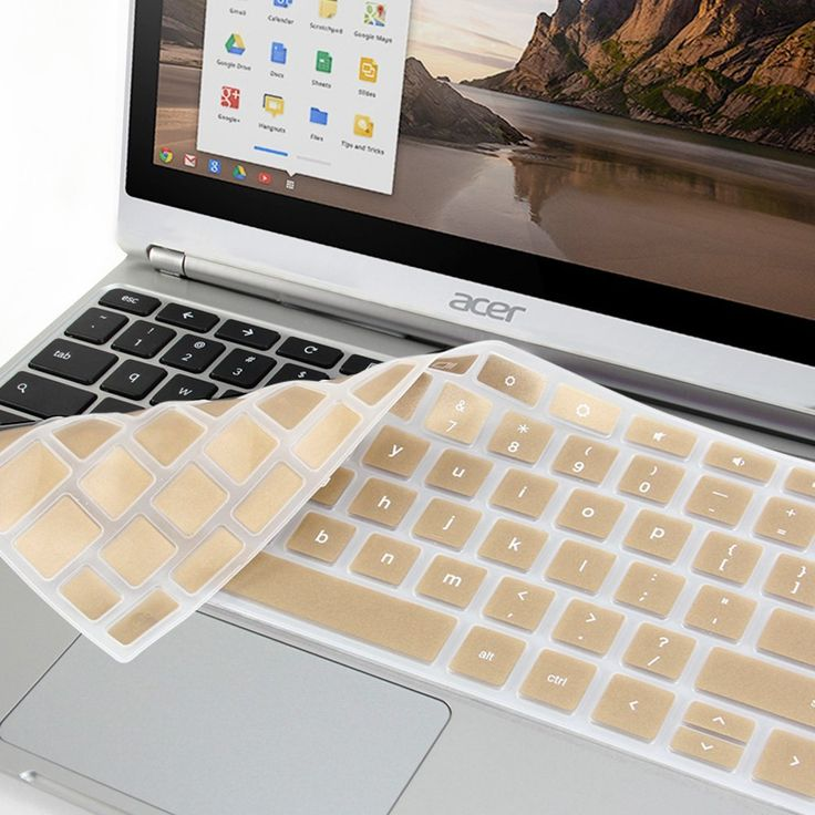 "GMYLE Metallic Champagne Gold Silicon Keyboard Cover for Acer 11.6"" Chromebook C720 C720P: Amazon.ca: Electronics"