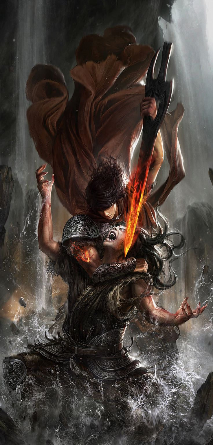 beowulf vs. grendels mother essay Beowulf follows her to her lair and beheads her with a sword that he finds there  although she isn't nearly as strong as her man-eating son, grendel's mother.