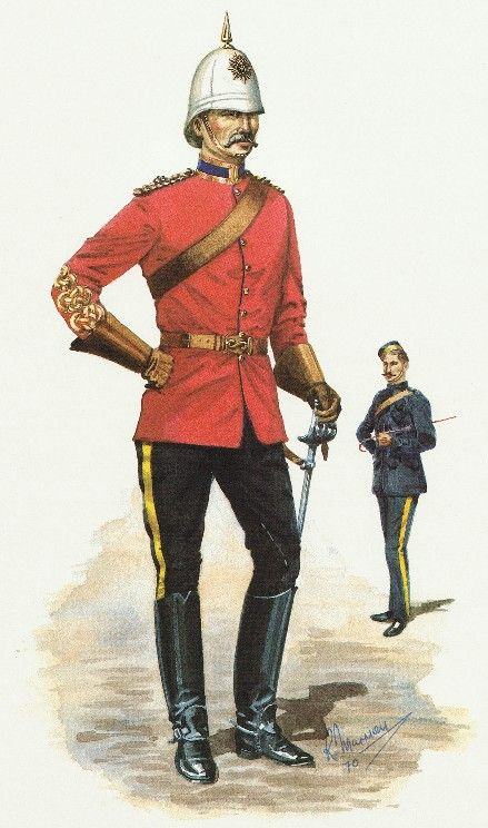 Royal Canadian Dragoons, Field Officer,1897