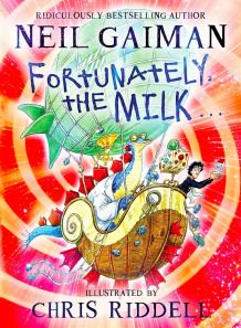 Check out my blog at... http://southwelllibrary.blogspot.co.nz/2013/11/fortunately-milk-by-neil-gaiman-general.html  fortunatelythemilk2