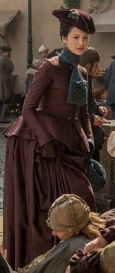Outlander ~ another beautiful costume for Claire