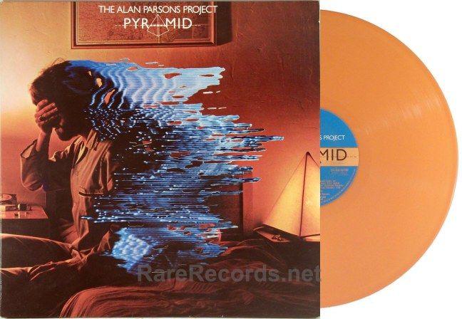Alan Parsons Project Pyramid Dutch Orange Vinyl Lp Alan