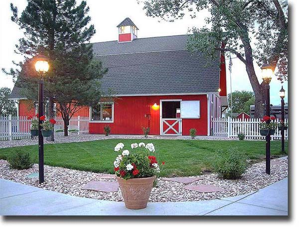 32 x 40 ft. Red Horse barn  - would love to build this!