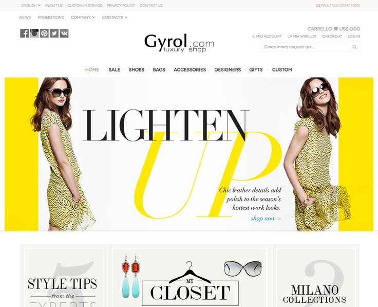 "Gyrol.com Luxury Shopping Outlet with a selection of the most prestigious Italian fashion brands.  Quality shoes and accessories for a memorable ""Shopping Experience"" at attractive prices."