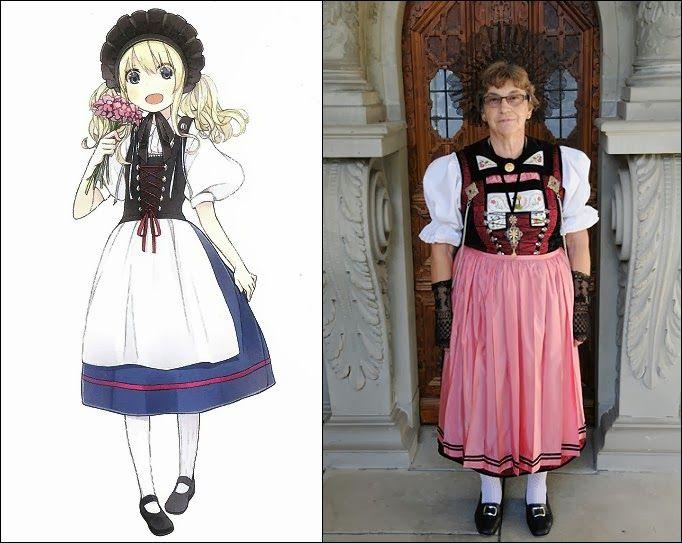Lucerne, Switzerland | Folkwear of Germany, Austria and ...