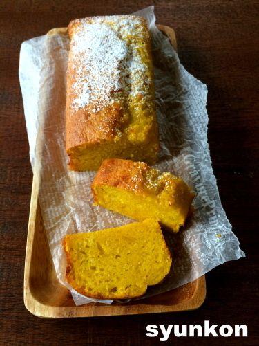 【簡単!!工程写真つき】泡立て、すり混ぜ不要*ホットケーキミックスでしっとりかぼちゃケーキ |山本ゆりオフィシャルブログ「含み笑いのカフェごはん『syunkon』」Powered by Ameba