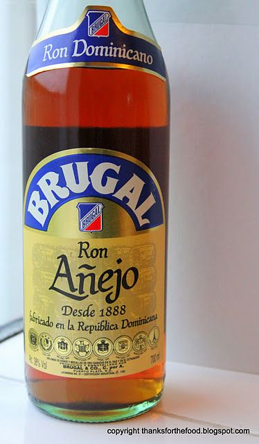 Brugal Rum from the Dominican Republic
