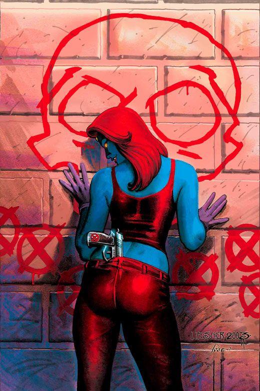 Mystique by Joseph Michael Linsner   MARVEL&DC HERO