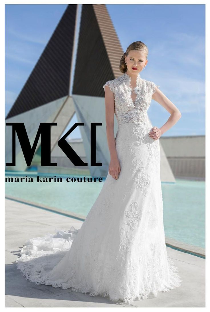 The dress that is both beautiful and detailed… We give it a huge thumbs up!  #MariaKarinCouture