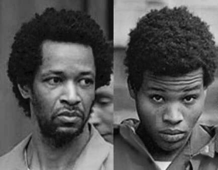 John Allen Muhammad and Lee Boyd Malvo, the D.C. Beltway Snipers. They shot and killed 16 people and injured two more with a rifle placed through a hole in the trunk of their car. This killing spree (for no reason) occurred in the D.C. area in October 2002. Muhammad was executed by lethal injection in 2009, while Malvo is serving a life sentence at the Red Onion State Prison in Virginia.