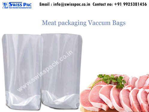 Our high barrier #VacuumBags are helpful in maintaining the freshness, smell and taste of the products by provide excellent oxygen and moisture barrier prosperities. For further details visit at http://www.swisspack.co.in/vacuum-bags/ #FishPackaging #PoultryPackaging #FruitProducts #DriedFruitPackaging #OrganicFoodpackaging and many others.