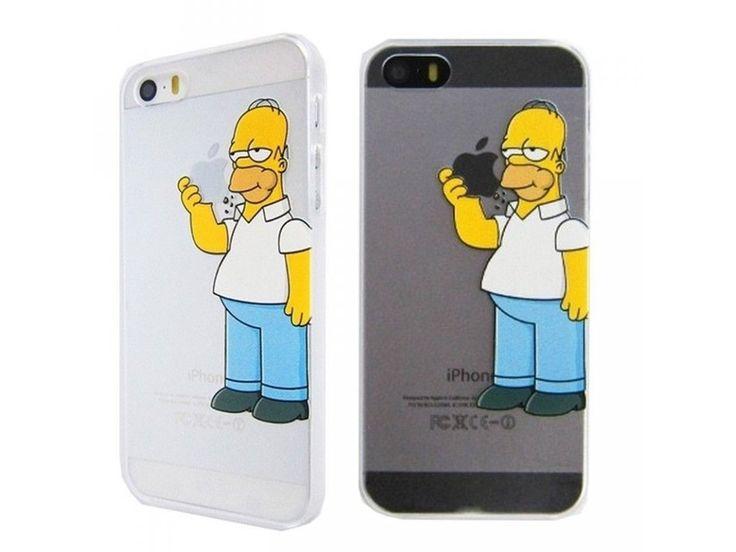 Homer Simpson kryt (obal) pre Iphone 5/5S