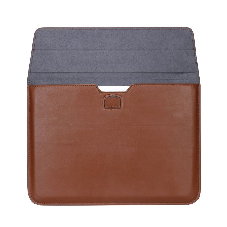 NEW Arrival PU Leather Case Stand Cover For MacBook Air Pro Retina 11 12 13 15 inch Sleeve Luxury Leisure Laptop Bags & Cases