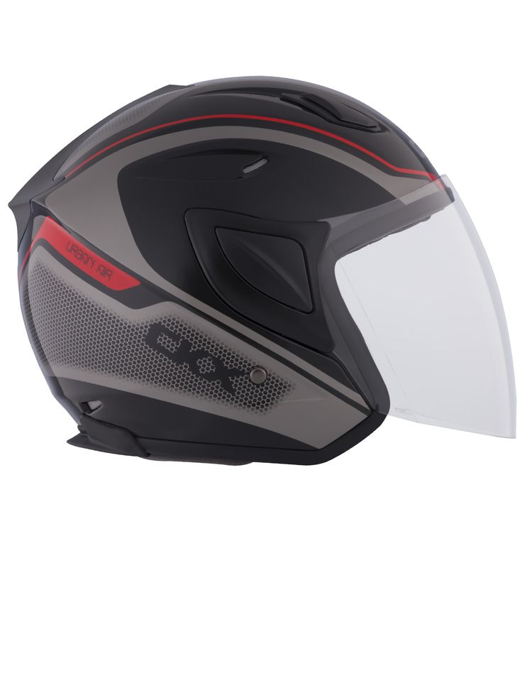 CKX 2015 - Motorcycle open face helmets - Urban AIR Red - ckxgear.com