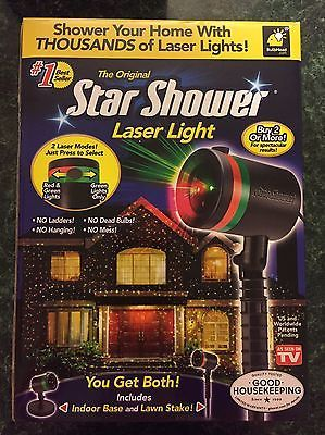 Star Shower Laser Lights Outdoor Christmas Decorations Projector As Seen On TV