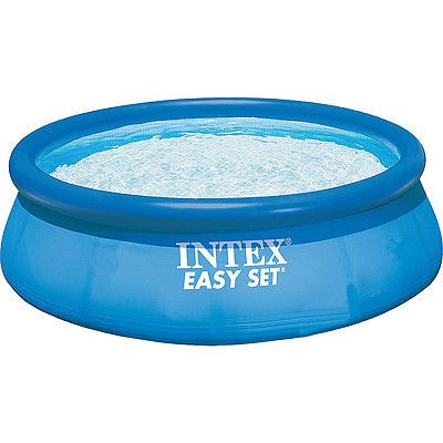 Luxury Camping Storage Intex X Easy Set Pool Blue Outdoor Accessorie New