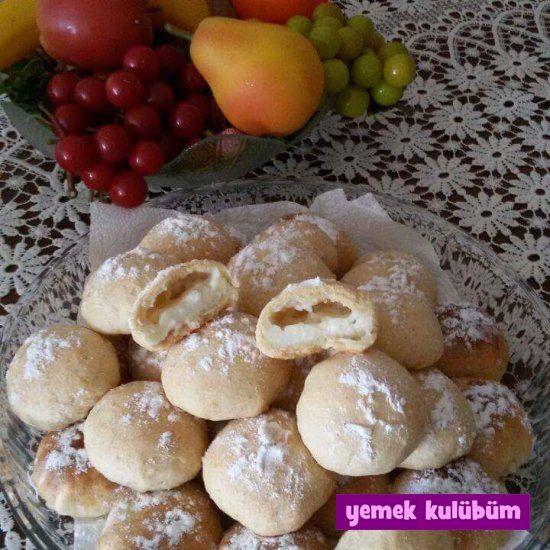 TARİF : Muhallebili Kurabiye   #muhallebi #muhallebili #kurabiyetarifi #yoğurt #yoghurt #vanilya #süt #sütlü nasıl yapılır, kolay pratik tatlı tuzlu kurabiye tarifleri, farklı değişik tatlı tuzlu kurabiye tarifleri