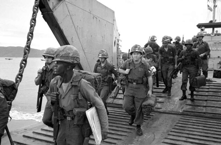 September 11,1965: 1ST US TROOPS ARRIVE IN VIETNAM  -   The 1st Cavalry Division (Airmobile) begins to arrive in South Vietnam at Qui Nhon, bringing U.S. troop strength in South Vietnam to more than 125,000. It comprised nine battalions of airmobile infantry, an air reconnaissance squadron, six artillery battalions and three aviation battalions.