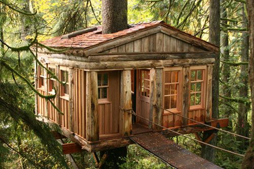 Temple of the Blue Moon, Treehouse Point, Washington State.