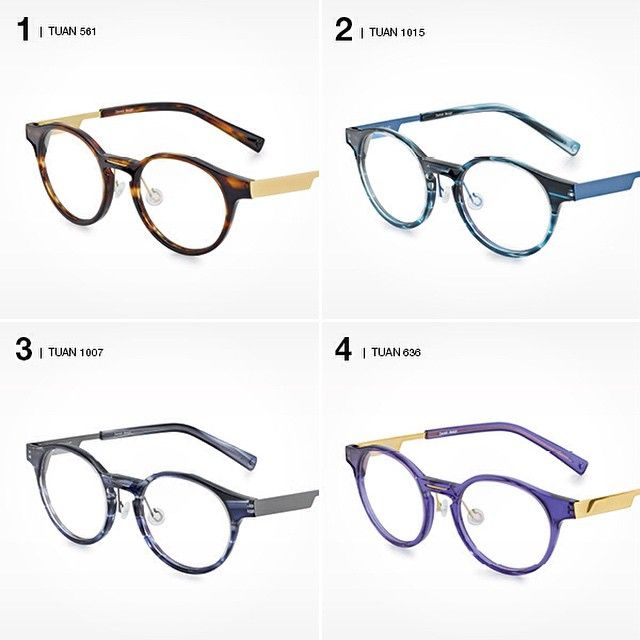 Which one is your favourite? Tuan from the #FLEYE acetate collection comes in a variety of colours.