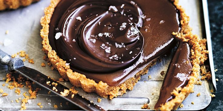 Try this Salted Chocolate Caramel Tarts recipe by Chef Donna Hay. This recipe is from the show Donna Hay: Basics To Brilliance.