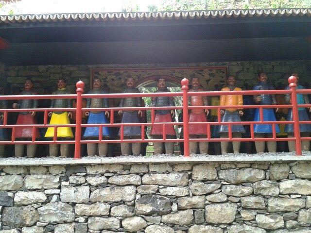 Soldados de terracota.