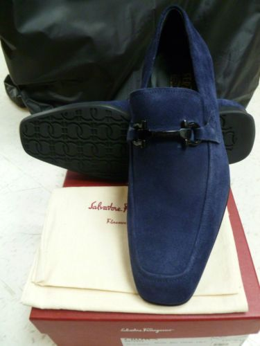 Dont step on my blue suede Ferragamo