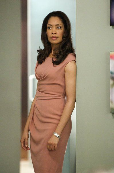 Gina Torres ...bad ass actress on great show.  And her wardrobe is TO DIE FOR