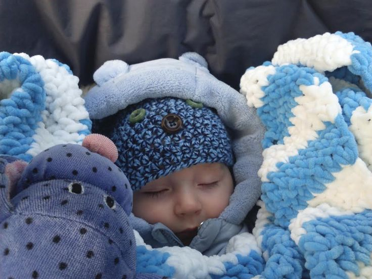 Crochet Baby Hat and Blanket