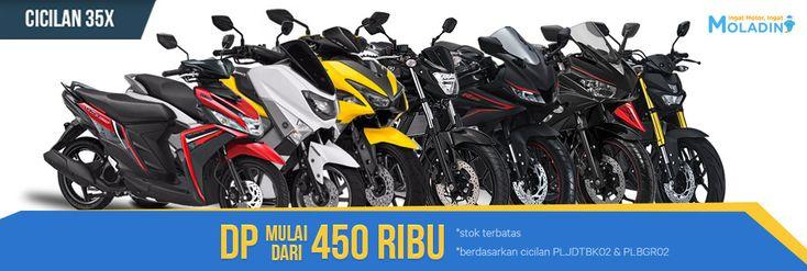Promo Yamaha Bikin Bahagia, Nikmati DP Ringan Cicilan Senang di Moladin - PriceArea.com