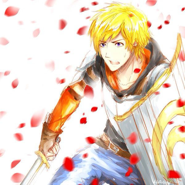 Jaune. I bet he grows into a badass in the next season or two!