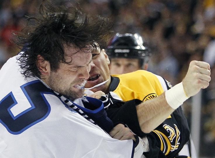 Boston Bruins' Shawn Thornton