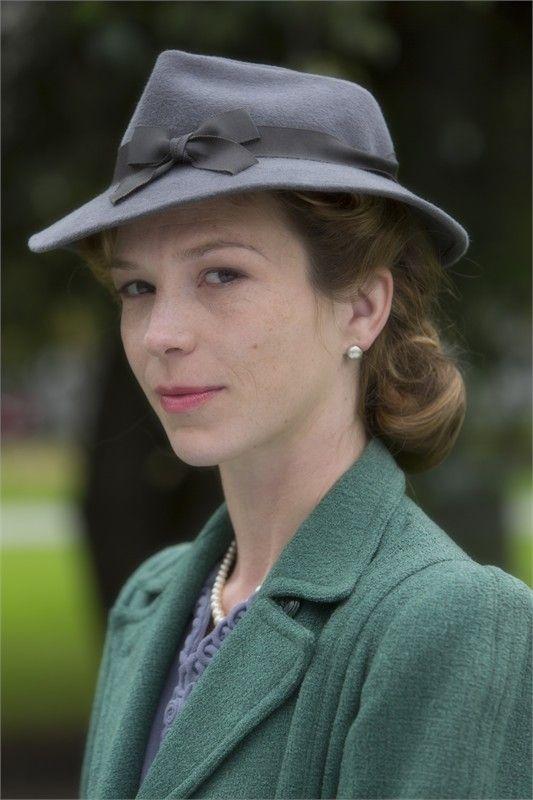Honeysuckle Weeks - the spunky redhead in BBC's Foyle's War