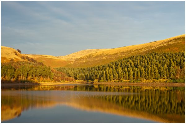 Howden reservoir, taken on a cycle trip to the Derwent Valley. It was the last Day of Autumn and of course the Day before the official Meteorological Winter! 1st of December.