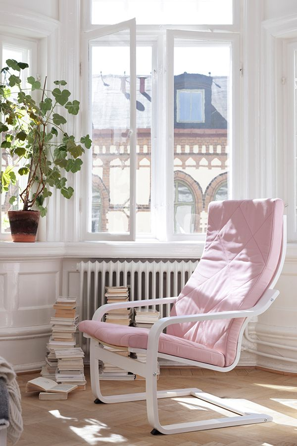 A cozy reading nook isnt complete without a poäng chair what could be