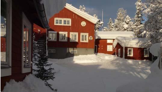 #Kvikkjokk Fjällstation, #Winter #Sweden