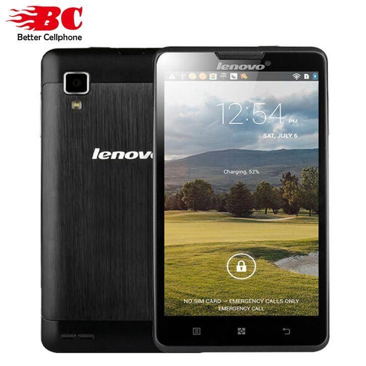 "Original Lenovo P780 Cell Phones MTK6589 Quad Core 5"" 1280x720 Android 4.4 Gorilla Glass1280x720 1GB RAM 8.0MP 4000mAh Battery"