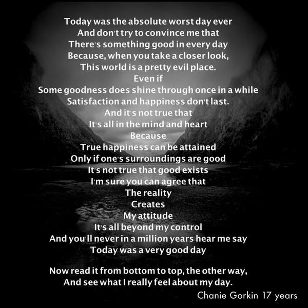 today was the absolute worst day ever poem - Google Search ...