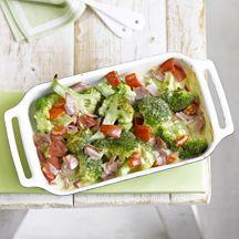 Schinken-Broccoli-Auflauf