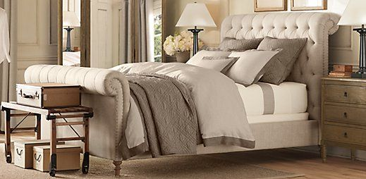 "Restoration Hardware's ""Chesterfield Bed"""