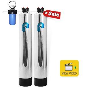 whole house water filter u0026 saltfree water softener pelican water