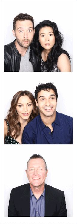 Scorpion Cast + EW Photo Booth