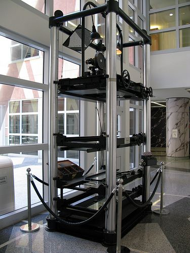 Walt Disney Studios - Burbank, CA - Walt's Invention - The Multiplane Camera.